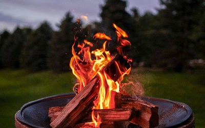 How to Protect Your Lawn From Your Fire Pit this Winter in NC